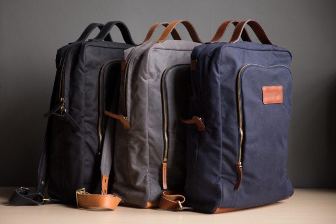 米国の弁護士がつくった現代のビジネスパーソンのためのバックパック「Modern Day Briefcase」が資金調達を開始