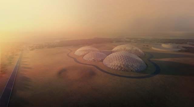 アラブの火星移住計画。地球での試作シェルターがなんか豪華です