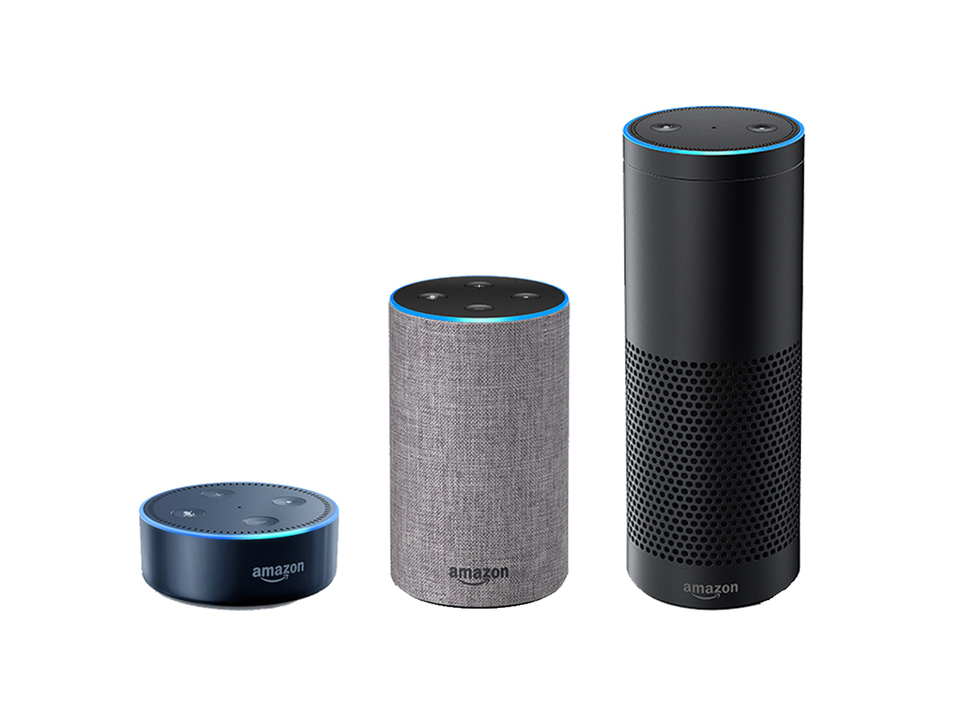 Amazon Echoの日本語版が正式発表! Echo、Plus、Dotの3種類が発売へ