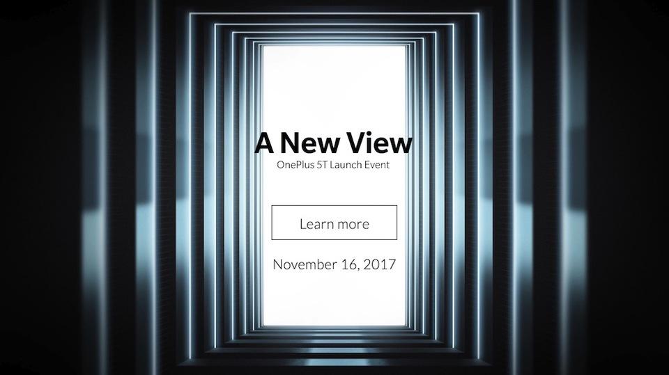 期待の新Androidスマホ「OnePlus 5T」、11月16日に発表へ