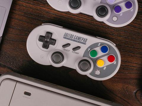 スーファミのコントローラっぽいSwitch対応ワイヤレスゲームパッドが日本発売