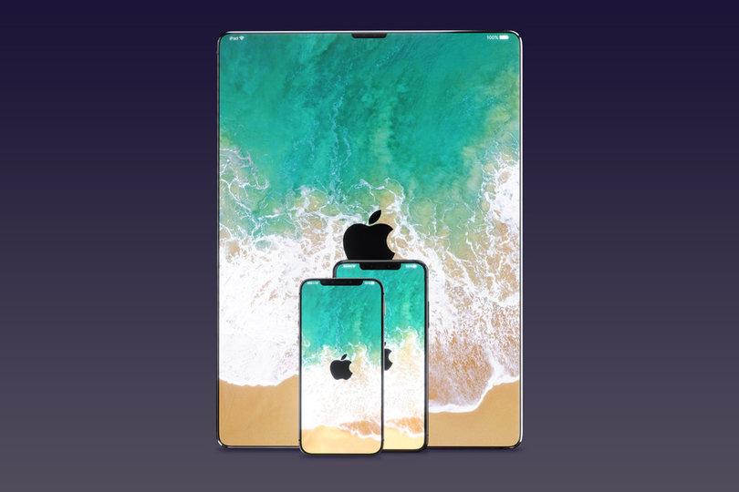 2018年iPadにはiPhone X風のベゼルレスディスプレイとFace IDを搭載か?