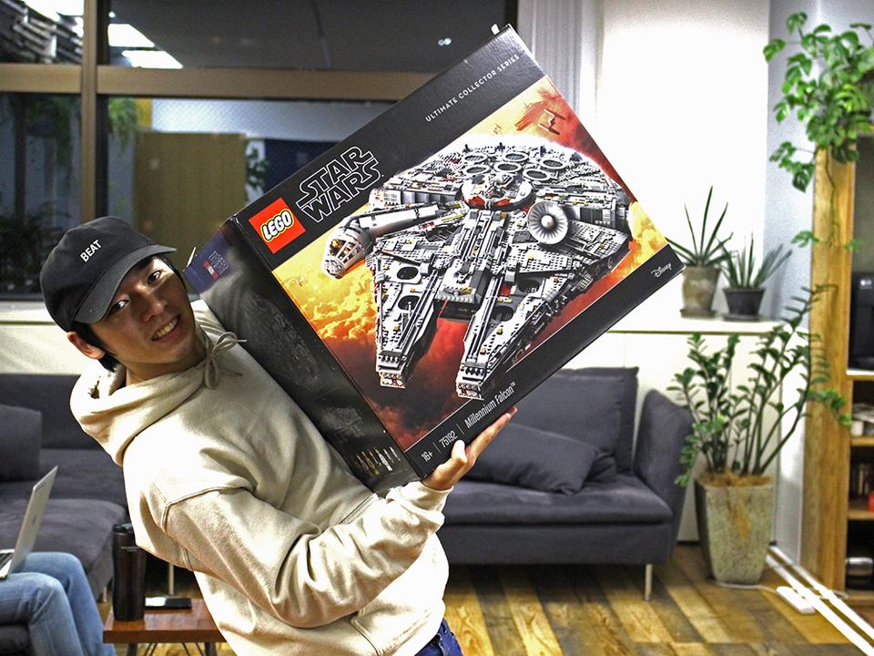 史上最大7,000ピース超えのレゴ スター・ウォーズシリーズ巨大ミレニアム・ファルコンは何時間で組み上げられた?