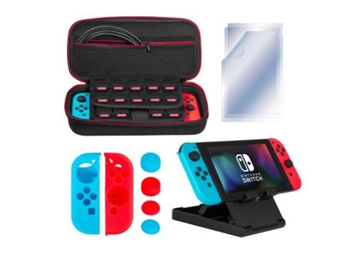 【本日のセール情報】Amazonタイムセールで80%以上オフも! Nintendo Switch用アクセサリーキットや腹筋ベルトがお買い得に