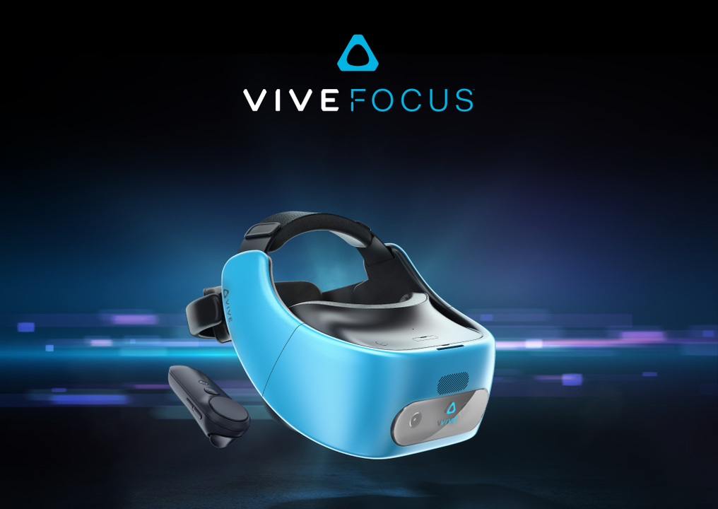 HTC、スタンドアロン型VRヘッドセット「Vive Focus」正式発表