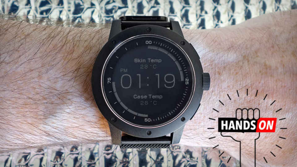 世界初、体温で充電するスマートウォッチ「Matrix PowerWatch」ハンズオン:未来を変える可能性を秘めている
