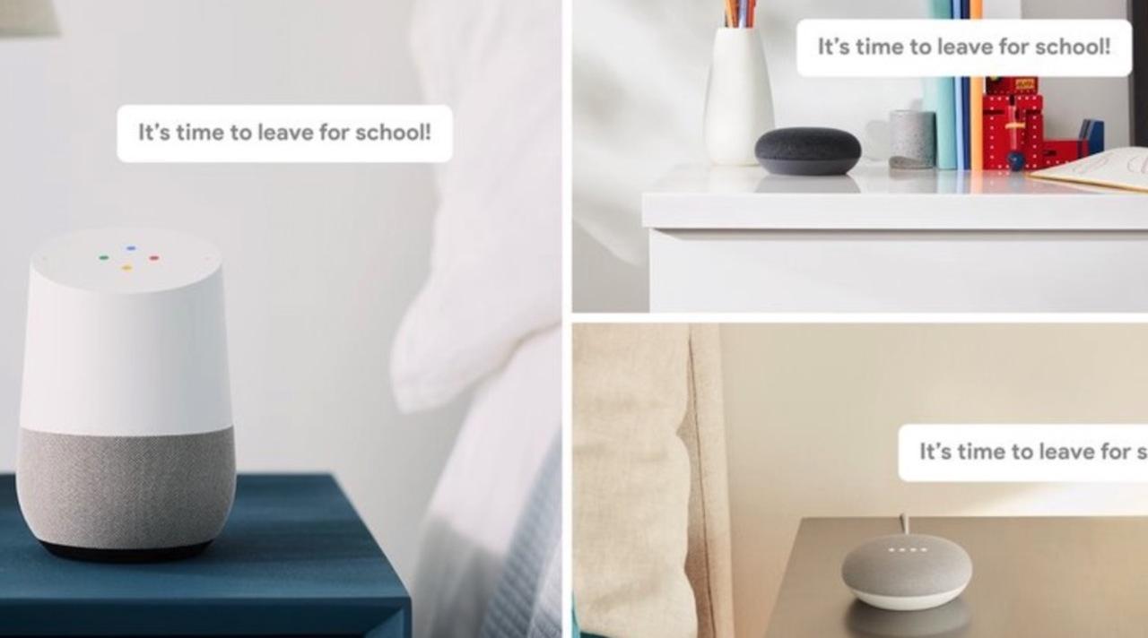 「学校に行く時間よ!」GoogleアシスタントとGoogle Homeでブロードキャストが可能に