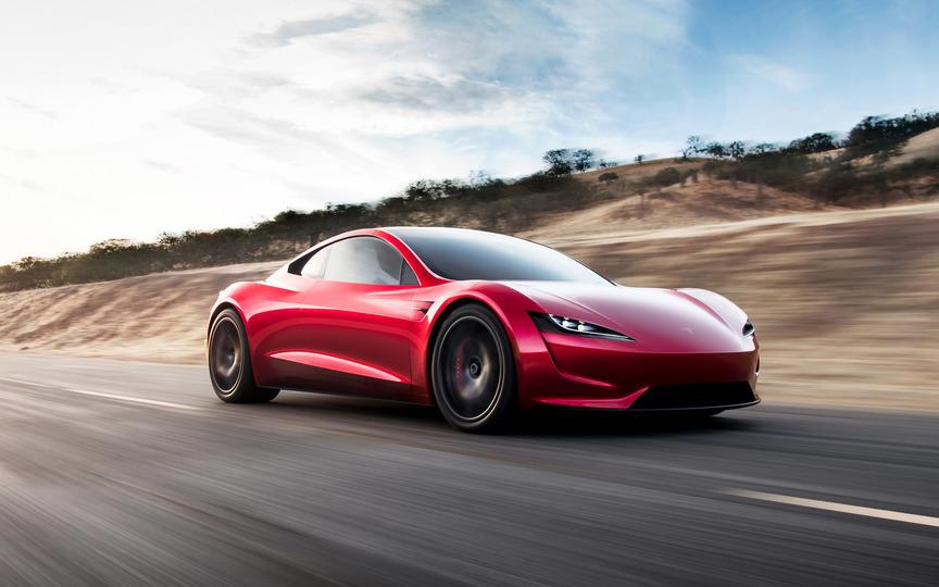 電気自動車メーカーTeslaがロードスターとセミトラックを発表