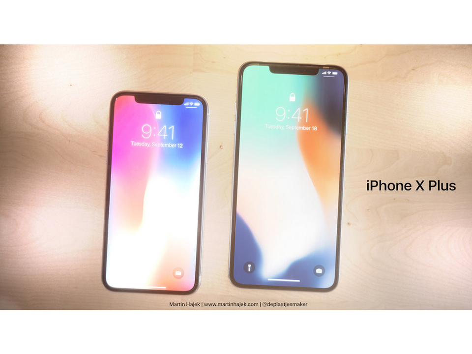 噂の大画面搭載「iPhone X Plus」はこうなる? ファンによるコンセプト画像が登場