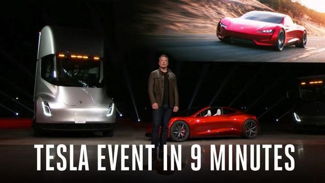 実車が登場! Teslaセミトラックとロードスター発表会の様子