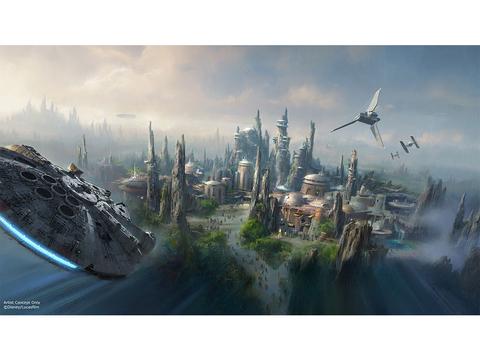 米ディズニーランドにオープン予定の「スター・ウォーズ」ランドの舞台は新惑星「Batuu」