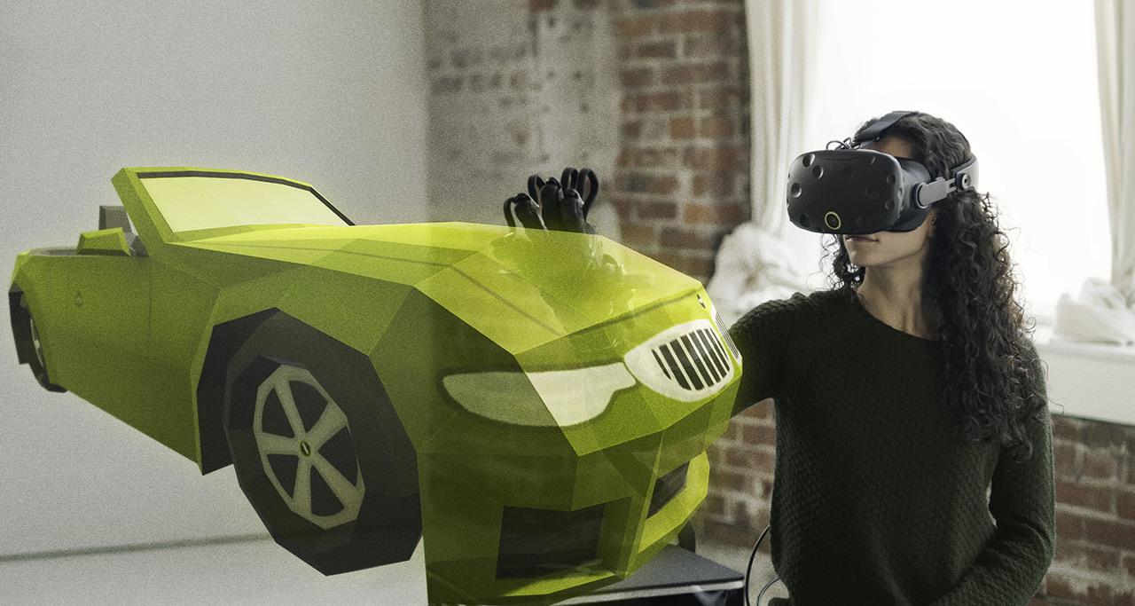 温度や硬さまで! VR内の触感をリアルに感じられるグローブ「HaptX Gloves」