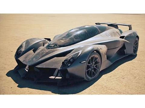 まるで実車版ミニ四駆。1,250馬力の爆速電気自動車「Tachyon Speed」