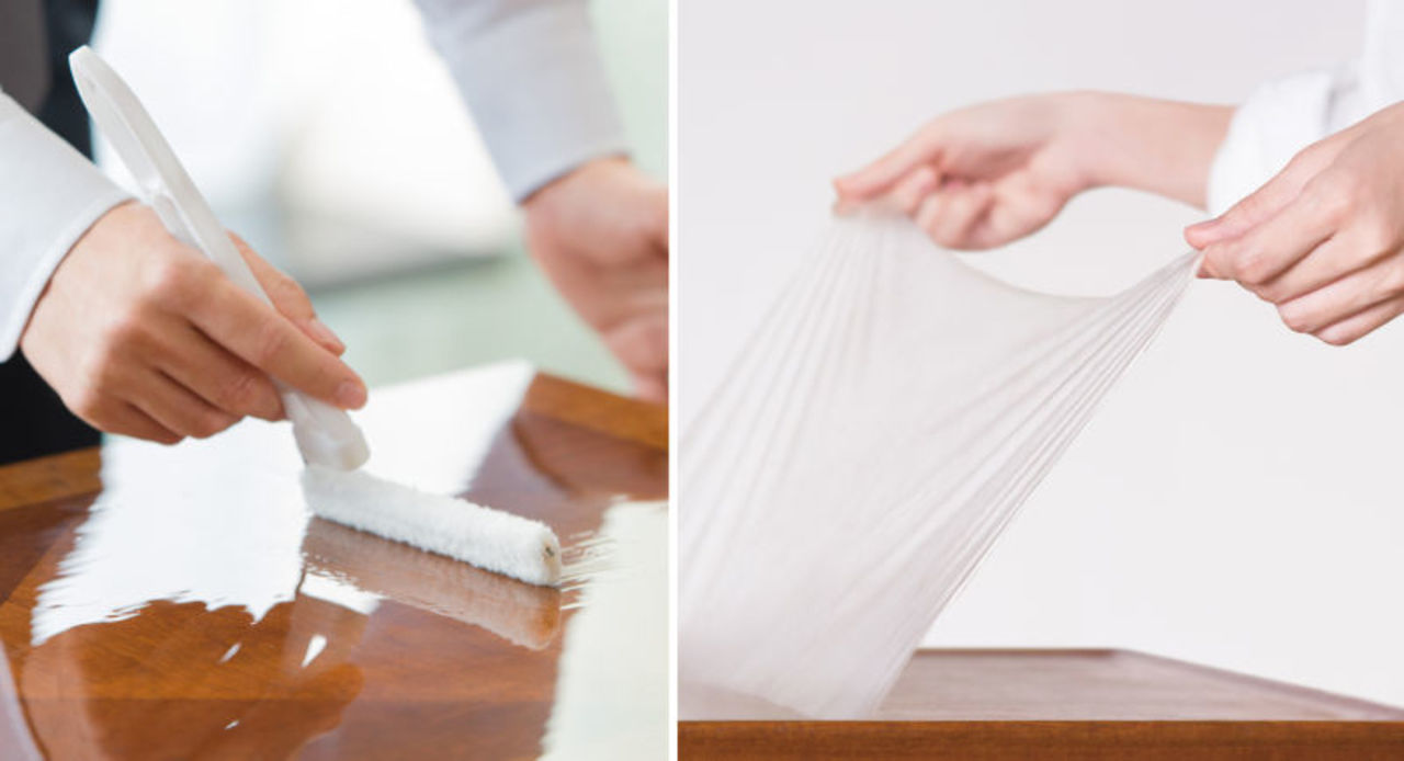 家にある大事なものぜーんぶ塗りたくなる。日本生まれの塗料で作る保護シート