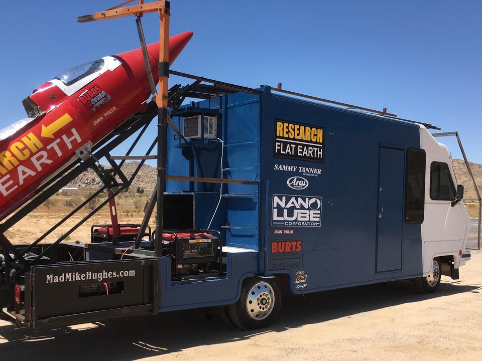 地球が平面だと証明したかった…? 自作ロケットの打ち上げが政府の横やりで延期に。