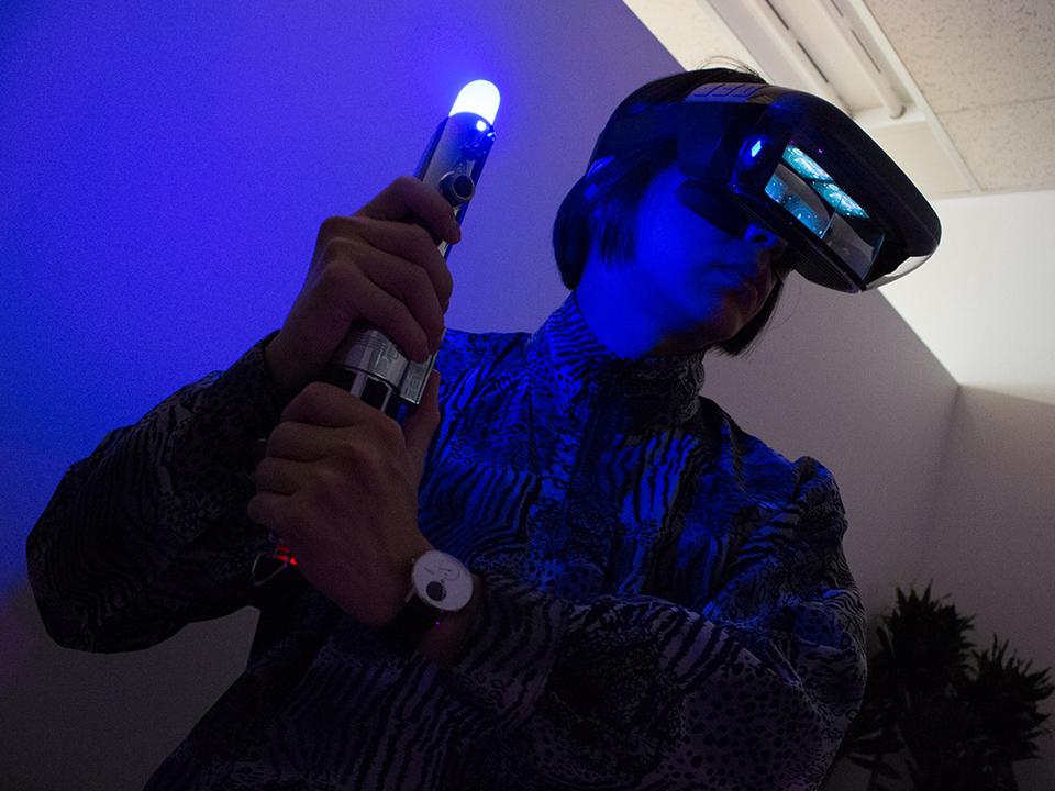 その手にライトセーバーの感触を。ARヘッドセットで楽しむ「Star Wars/ジェダイ・チャレンジ」をプレイしてみた