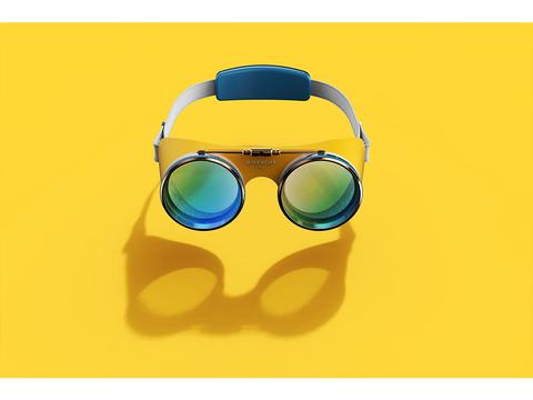 高級ブランドのジバンシィが作る、VRゴーグルのコンセプト・デザイン