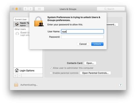 macOS High Sierraに新しいバグ問題。パッチあてると今度はファイル共有できない(解決策あり)