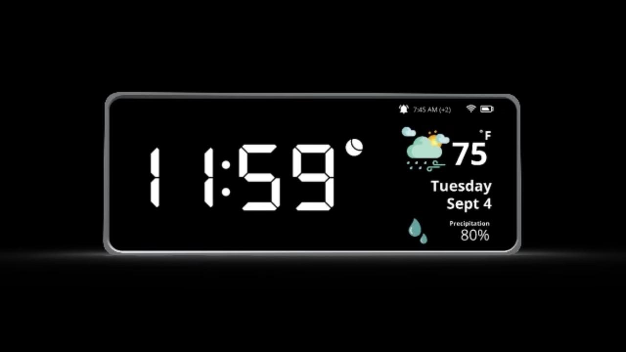 ジェスチャーで操作できるAlexa対応のスマート目覚まし時計「Oboo」でスマートなモーニングを