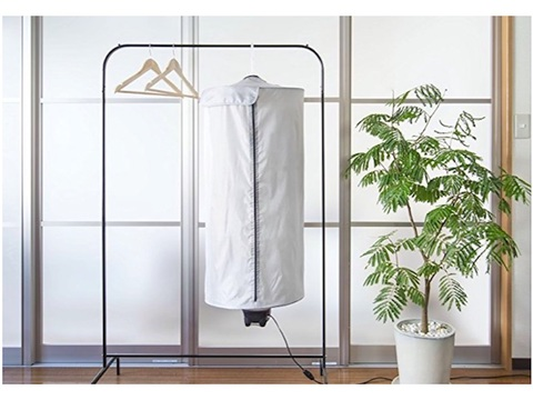 雨や雪の日に使いたい。コンパクトで便利な衣類乾燥機