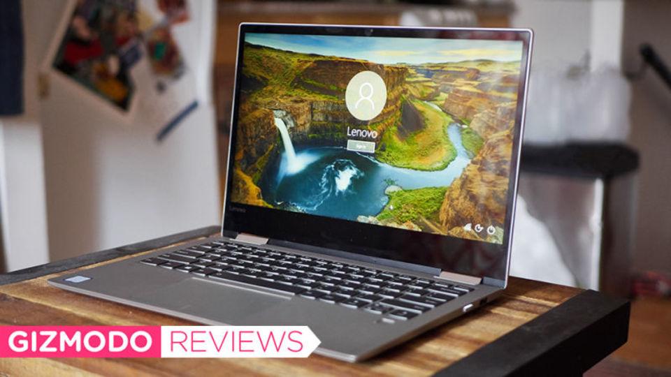Lenovo YOGA 720レビュー:この値段だとかなり満足な2in 1ラップトップ
