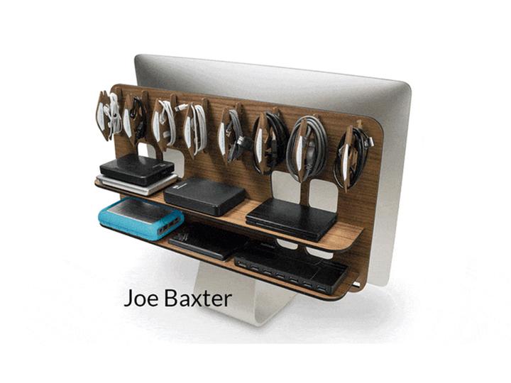 iMacの背中を棚にする、便利でシャレオツなプロダクト