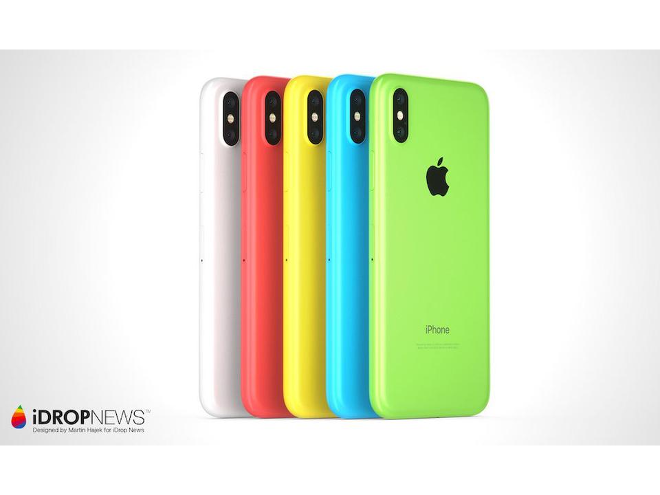 お求めやすい「iPhone Xc」、ファンがデザインしたらこうなった