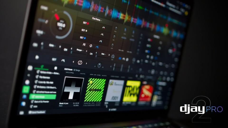 定番DJアプリ「djay Pro 2」が登場。人間のミックスを学習するAIを搭載