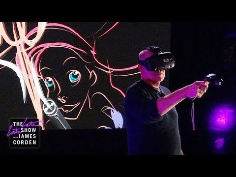 ディズニーの伝説的アニメーターがVRで描く、『リトル・マーメイド』のアリエル