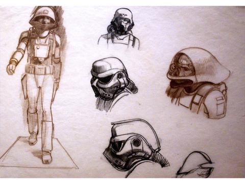 ラルフ・マクウォーリーによる『スター・ウォーズ』のコンセプトアートが、ファンムービーとして映像化