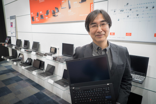 ThinkPadのデザイナー 高橋知之さん:世界に誇るノートPCをデザインする日本人はプレッシャーを感じているの?