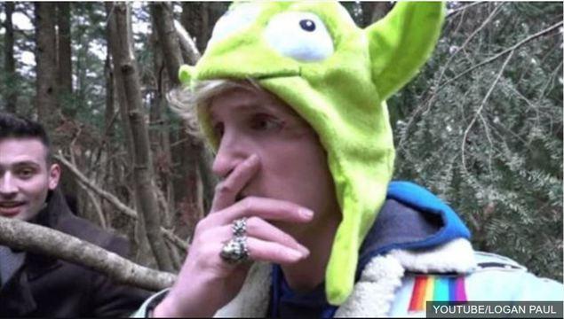ローガン・ポールが青木ヶ原樹海で遺体発見、動画を公開し批判殺到