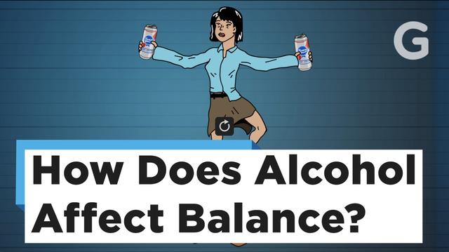 どうしてお酒を飲んだらフラフラになっちゃうの?