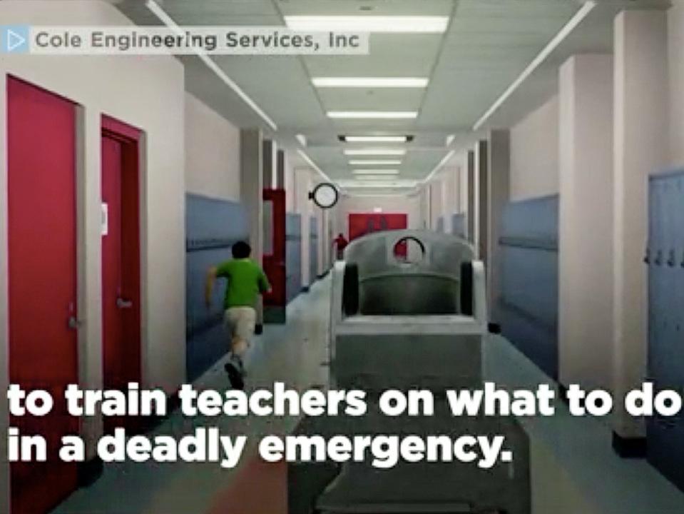 アメリカではVRを使って教員が銃撃事件対応のトレーニングを受けられるように