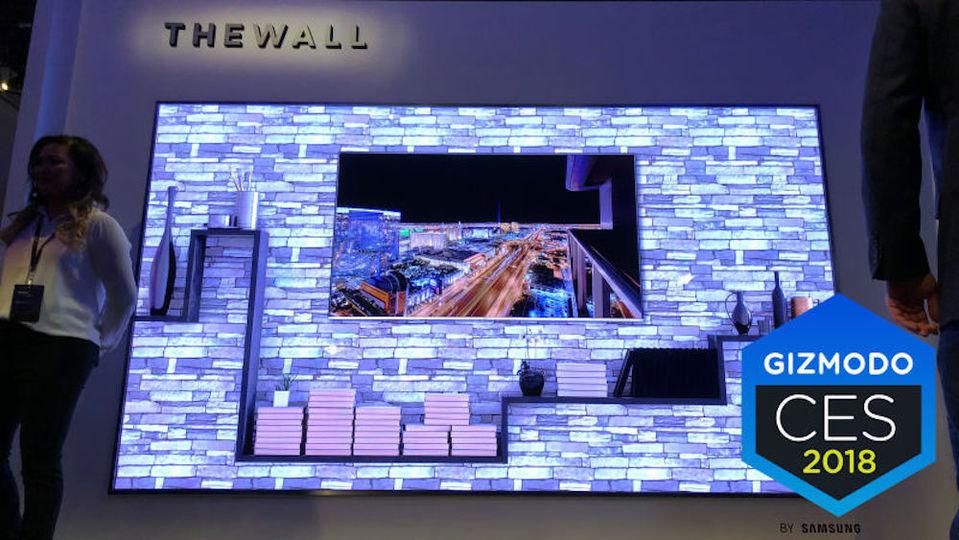 サムスンの新型テレビが、テレビっていうか壁