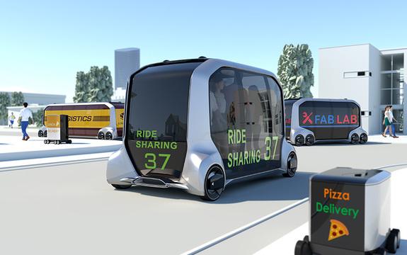 可能性は無限大! トヨタ自動車が運搬用EV「e-Palette Concept」を発表