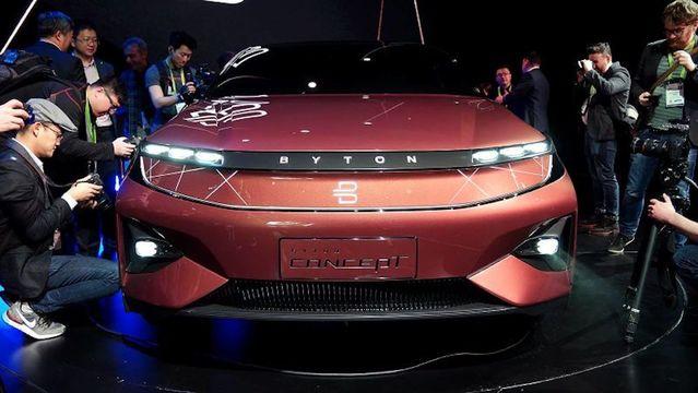 Teslaの対抗馬となるか? 中国の電気自動車スタートアップByton、CESでコンセプトカーを披露
