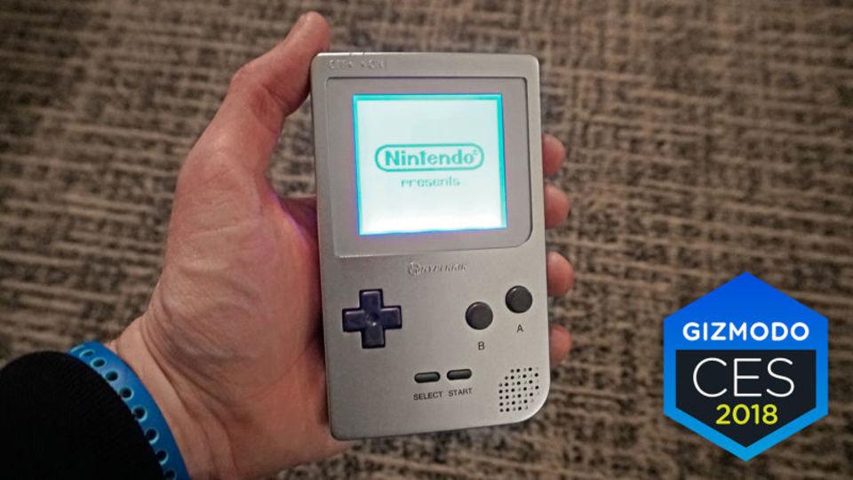 Hyperkinがアルミ筐体のゲームボーイ互換機「Ultra Gameboy」