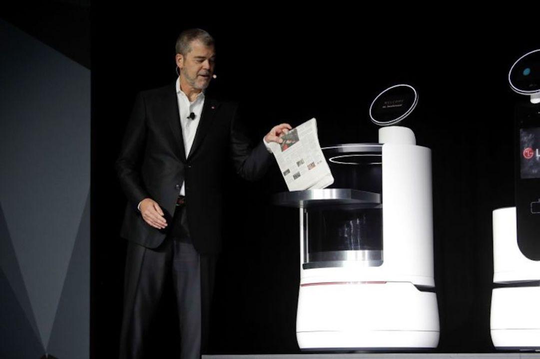 LGが発表した音声アシスタント「CLOi 」が、人間味にあふれている! ご機嫌斜めでプレゼンの質問を全無視