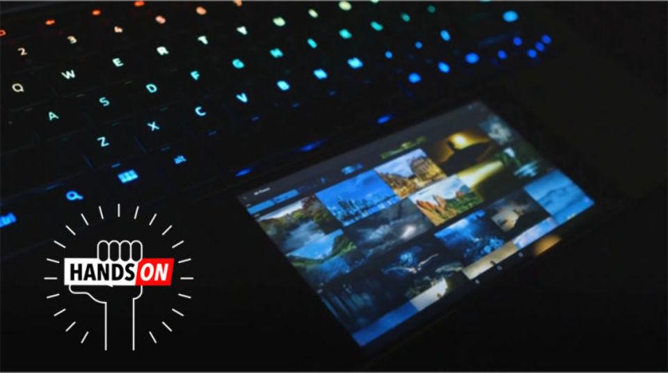 Razerの「Project Linda」ハンズオン:ラップトップのトラックパッドにスマホ埋め込めば最強じゃね?