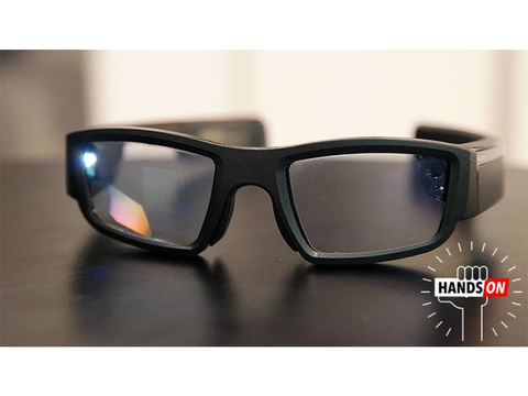 スマートグラス「Vuzix Blade」ハンズオン:ついにGoogle Glassの理想を実現した?