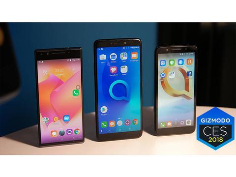 格安スマホが大進化…。Alcatelが縦長ワイドディスプレイを搭載した約1万円の最新モデルを発表
