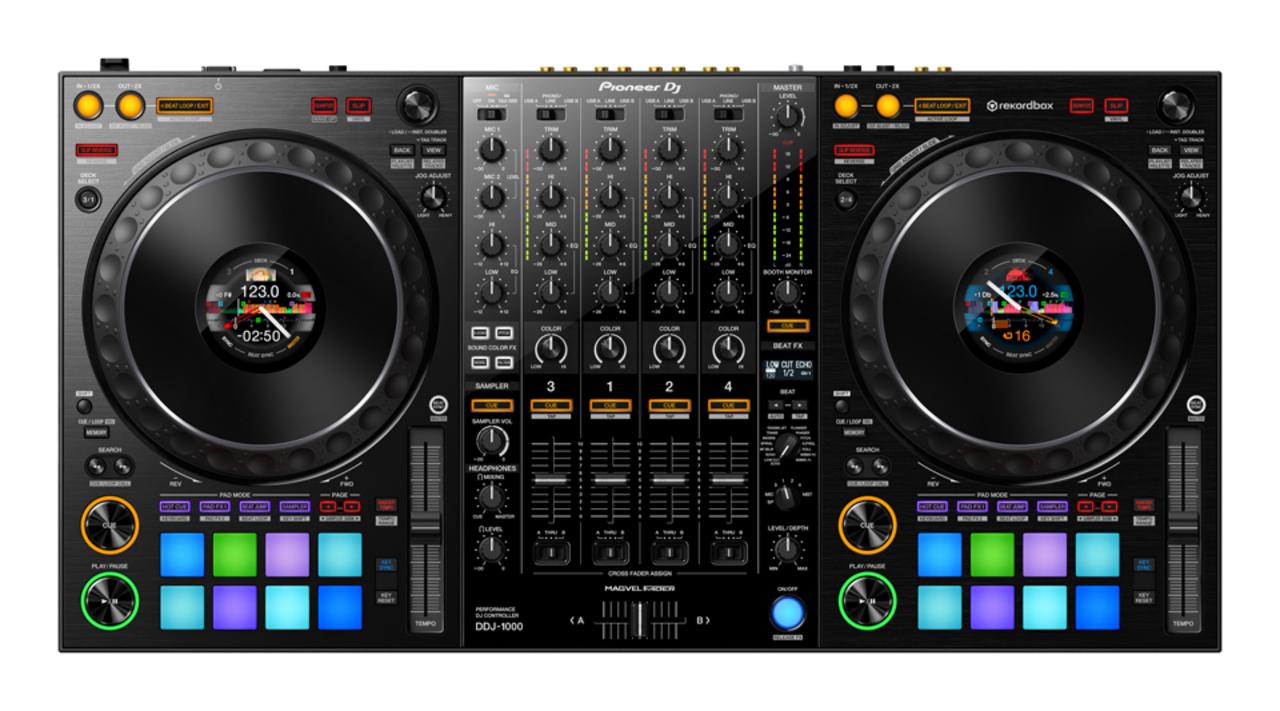 タンテの中にディスプレイ! Pioneer DJのDJコントローラー「DDJ-1000」