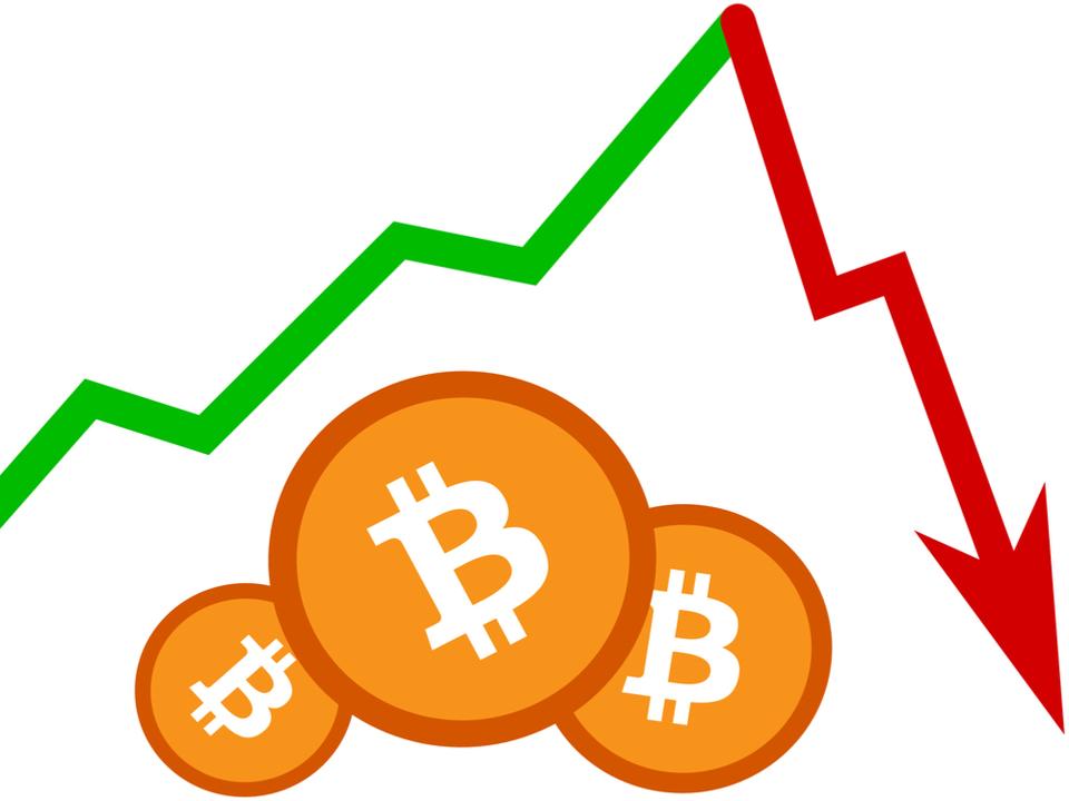 ビットコイン急落。一時は1万ドル以下に