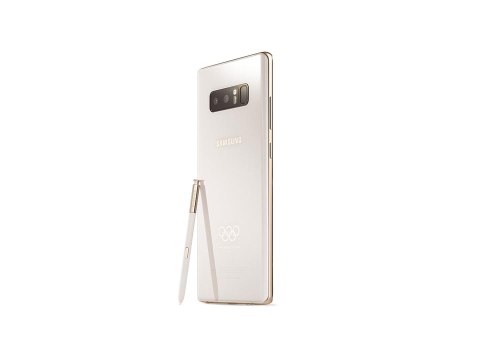 これが平昌五輪の参加者に配られるGalaxy Note8の限定モデルだ!
