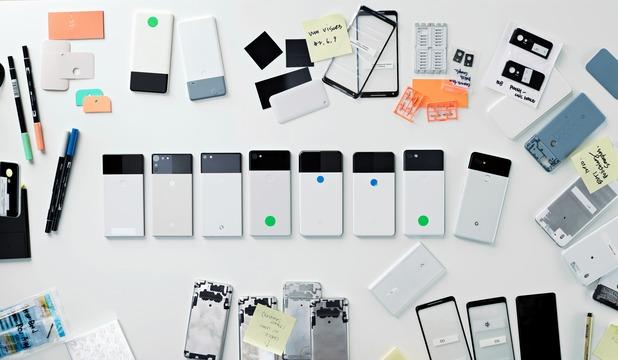 パンダカラーのPixelbookもいいなー! Pixel 2やGoogle Homeのプロトタイプが公開される