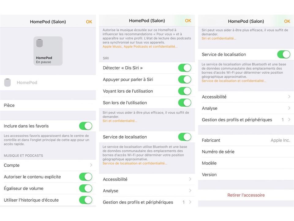 HomePodの設定画面が流出か。設定はホームアプリで?