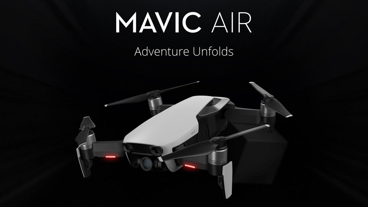 DJIの新型ドローン「Mavic Air」が正式発表。Mavic Proから超サイズダウン、なのに中身はほとんど同じ