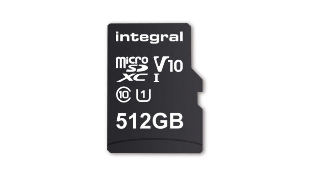 世界初、512GBのmicroSDカードが登場。いままでの最大容量を112GB更新