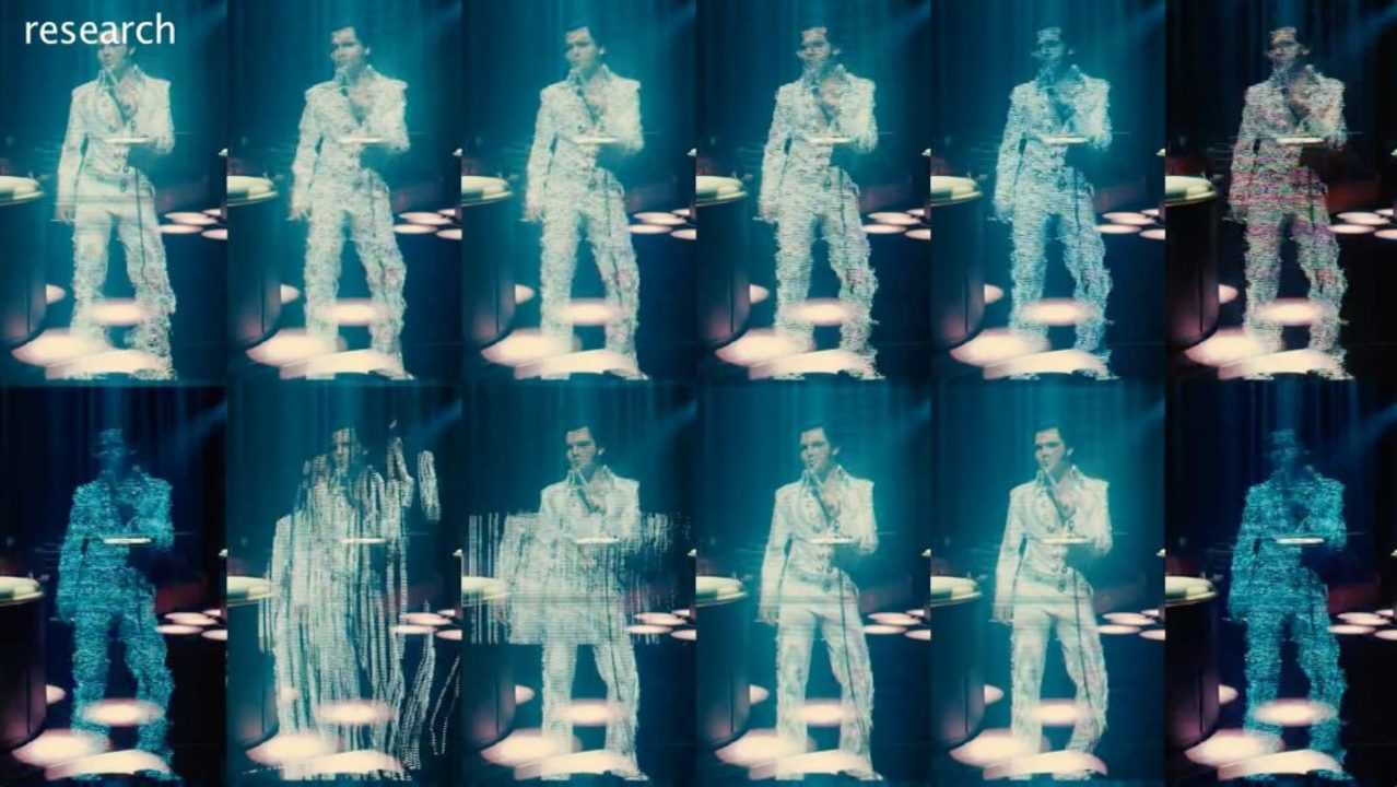 『ブレードランナー2049』エルビス・プレスリーのVFX裏側映像